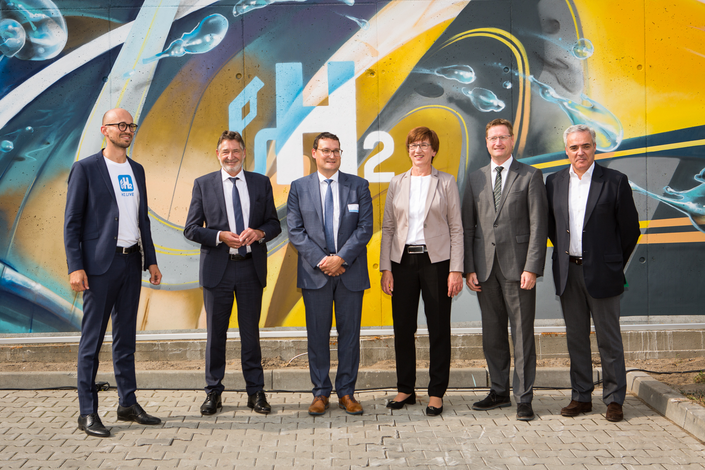 50th hydrogen service station in Germany